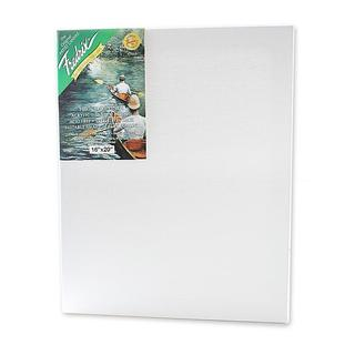 Fredrix 16-inch x 20-inch Green Label Pre-stretched Blank Canvas