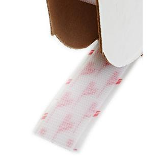 Hook and Loop White 1-inch x 25-yard Wide Hook Closure Tape Roll
