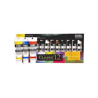 Liquitex Classic 12 Heavy Body Acrylic Colors (Set of 12)
