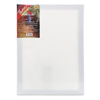 Fredrix 18-inch x 24-inch Red Label Pre-stretched Canvas