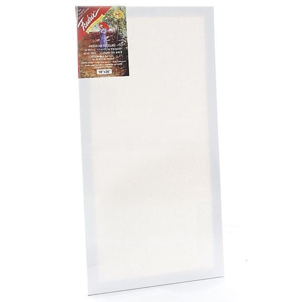 Fredrix 18-inch x 36-inch Red Label Pre-stretched Canvas