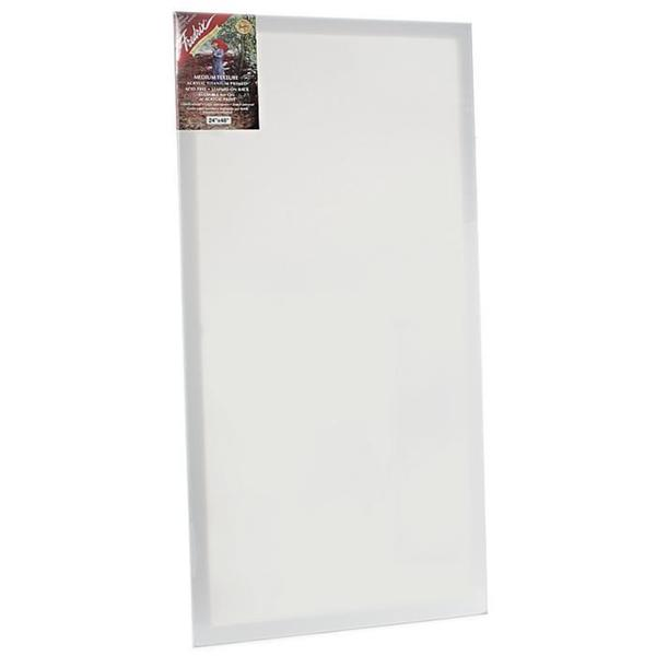 Fredrix 24-inch x 48-inch Red Label Pre-stretched Canvas