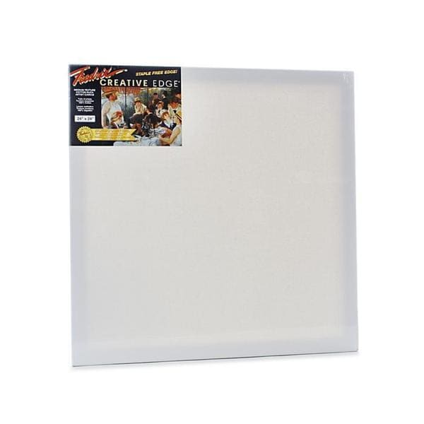 Fredrix 24-inch x 24-inch Creative Edge Pre-stretched Canvas