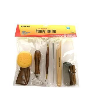 Kemper Pottery Tool Kit (Set of 7)