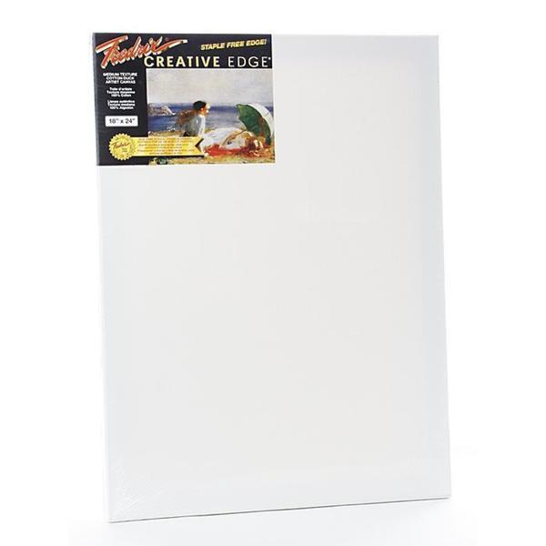 Fredrix 18-inch x 24-inch Creative Edge Pre-stretched Canvas