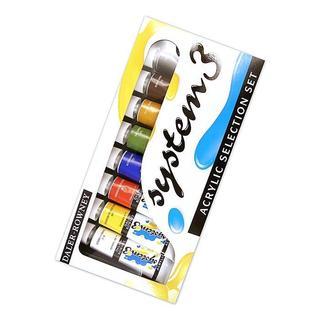 Daler-Rowney Selection System 3 Acrylic Paint Set