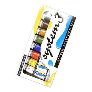 Daler-Rowney Selection System 3 Acrylic Paint Set