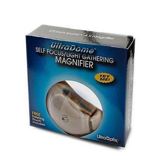 Ultraoptix 2.5-inch Ultradome Magnifier|https://ak1.ostkcdn.com/images/products/6155327/P13813358.jpg?impolicy=medium