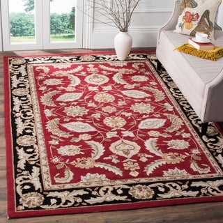 Safavieh Hand-hooked Easy Care Kerman Red Rug - 2' X 3'