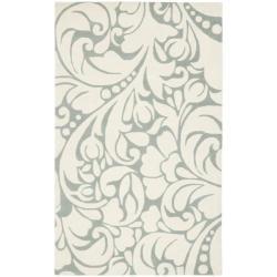 Safavieh Handmade New Zealand Wool Flow Ivory Rug (3'6 x 5'6')