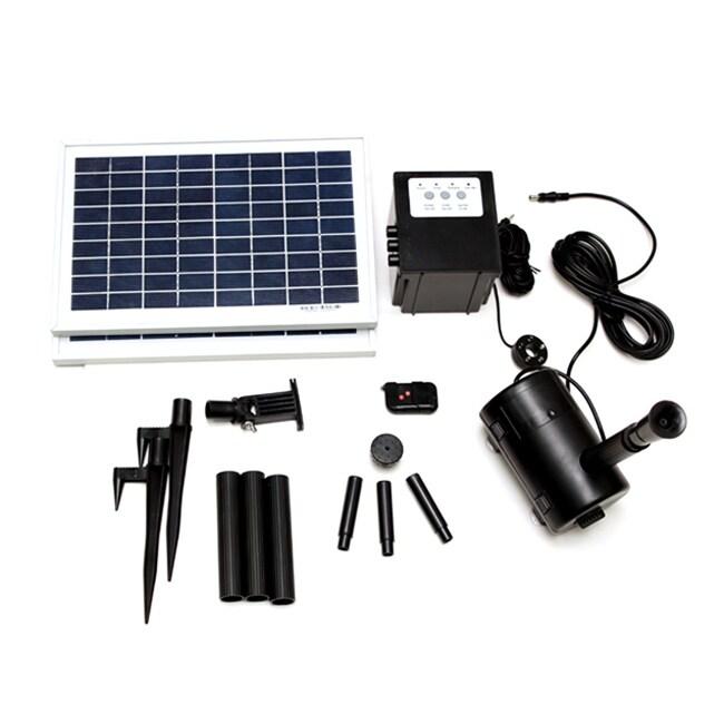 Timer Control 16-watt Solar Water Pump With Remote Contro...