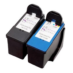 Sophia Global Lexmark 36 and 37 Ink Cartridges (Pack of 2) (Remanufactured)