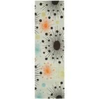 Safavieh Handmade New Zealand Wool Cosmos Light Blue Rug (2'6 x 8') - 2'6 x 8'