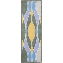 Safavieh Handmade Soho Modern Abstract Multicolored Runner Rug (2' 6 x 8')