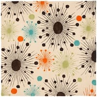 Safavieh Handmade New Zealand Wool Cosmos Ivory Rug - 6' X 6' Square