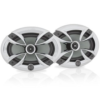 Brand-X L69CX 6'' X 9'' Point Source Coaxial Speaker System - WHITE