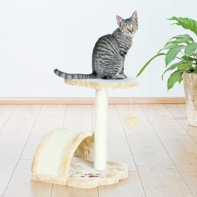 Trixie Vitoria Cat Tree (for kittens, beige, dangling toy...
