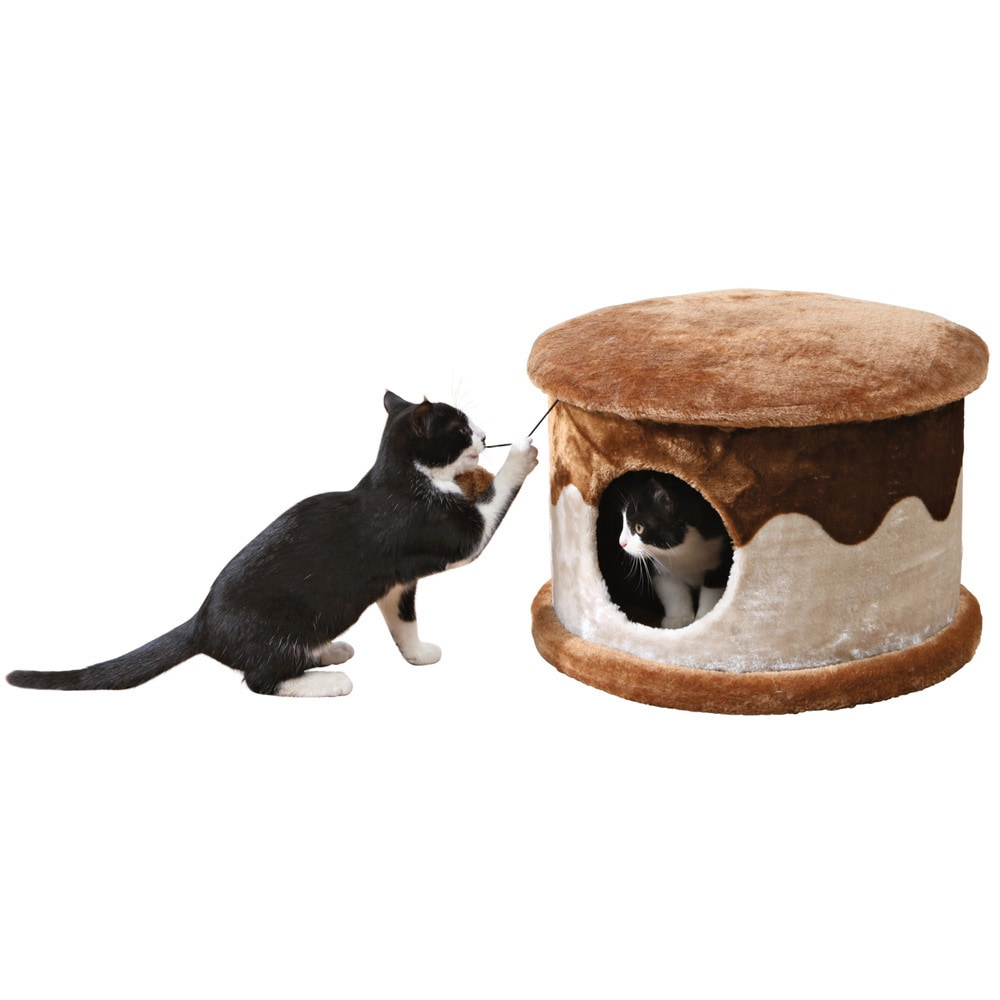Trixie Cozy Cat House (Beige/brown)