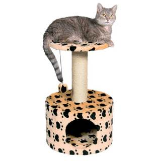 Trixie Toledo Paw Print Cat Tree