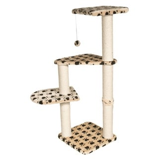 Trixie Altea Beige/ Black Cat Scratching Post