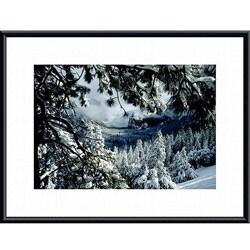 John K. Nakata 'First Snow' Framed Art Print