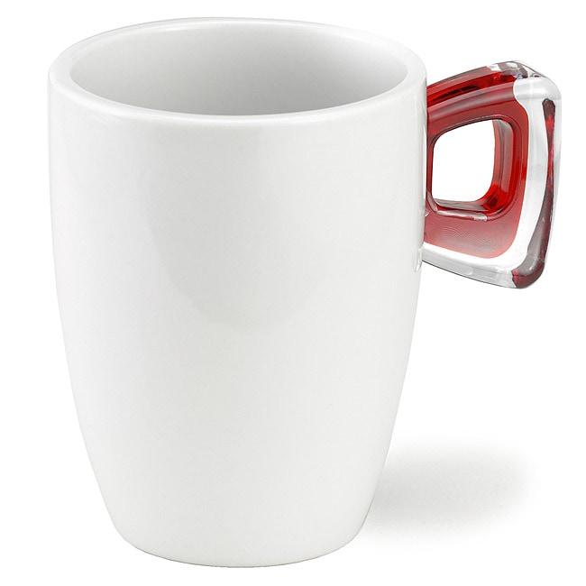 Omada 10-oz Square Crystal Mugs (Set of 4)