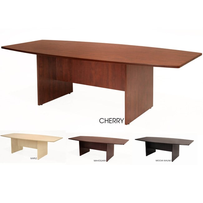 71-inch Regency Boat-shaped Contemporary Wood Conference Table