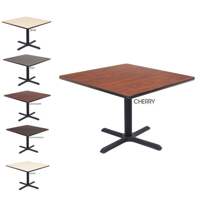 Regency Lunchroom 36 Inch Square Table