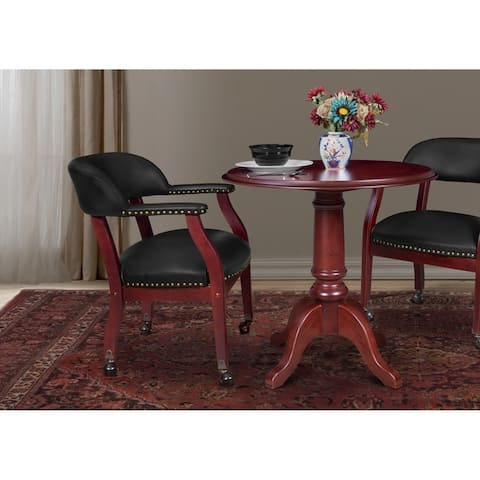 Ivy League Captains Chair with Casters