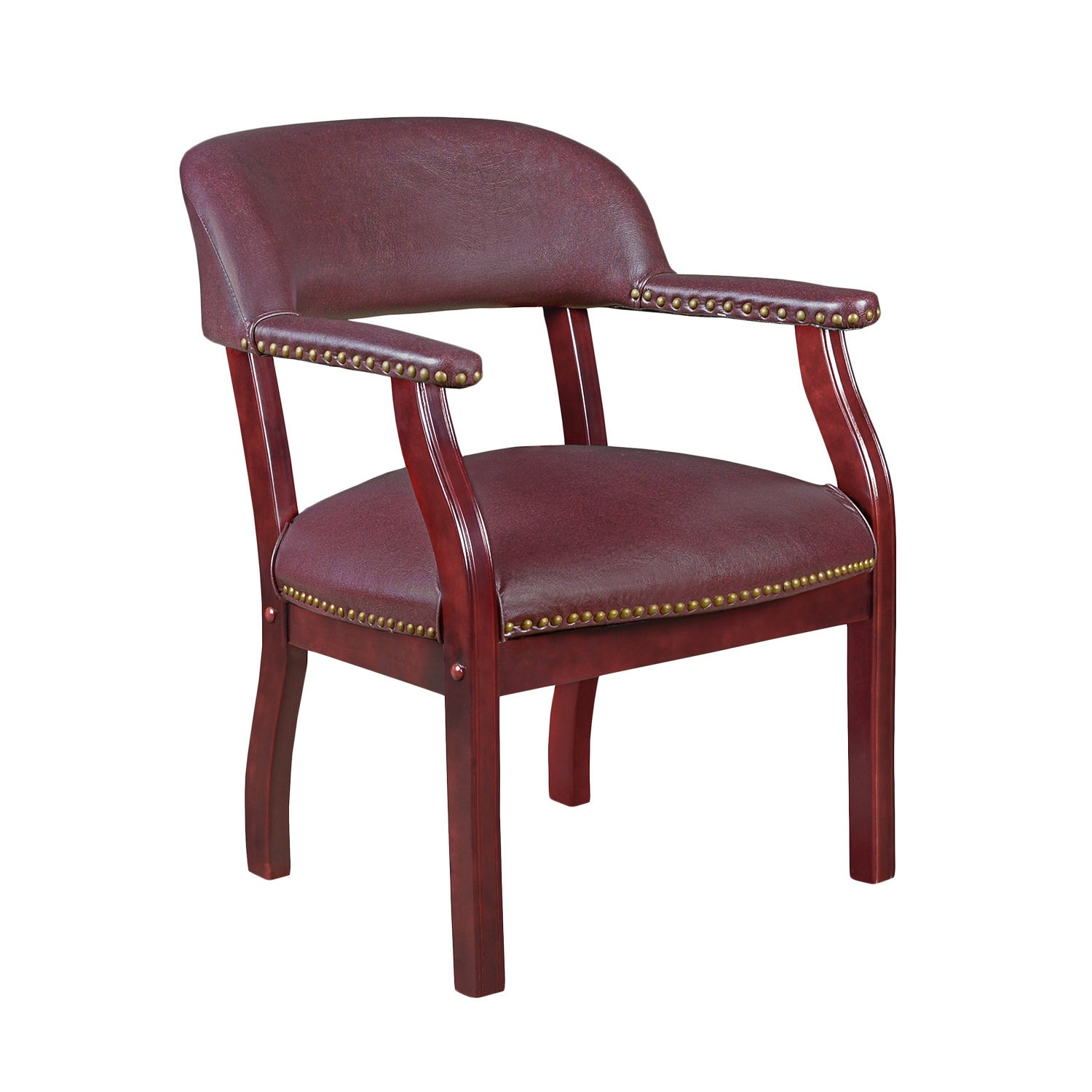 Regency Seating Ivy League Captains Chair (Red)