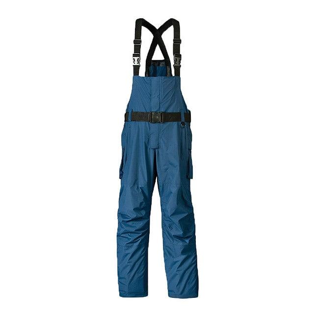 Mossi Blue/Black RX-3 Adjustable Taslon Fabric Motorcycle Bib