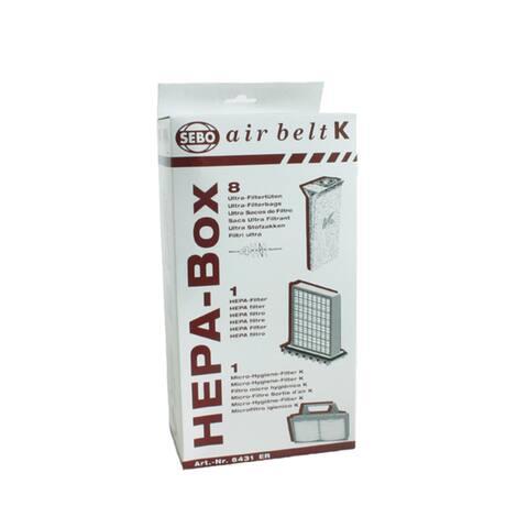 Sebo K Series Vacuum HEPA Service Box