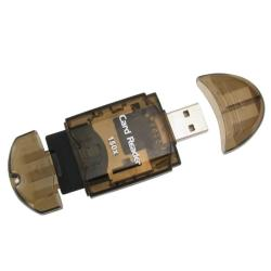 INSTEN Smoke Colored Memory Card Reader to USB 2.0 Adapter (Pack of 2) - Thumbnail 2