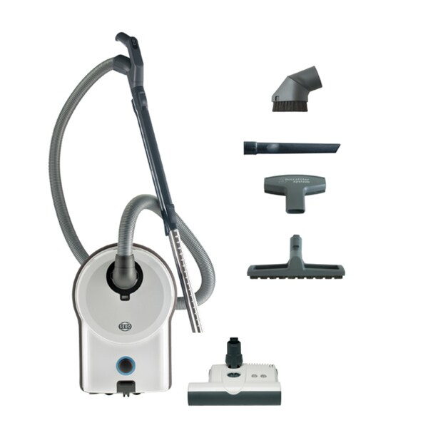 Sebo 90641AM Vacuum Airbelt D4 Premium White with Power Head