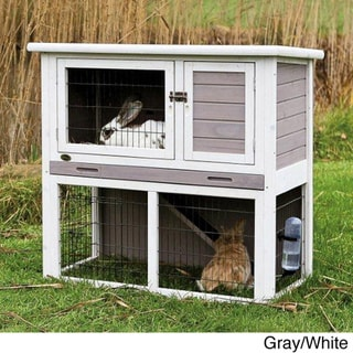 Trixie Rabbit Hutch with Sloped Roof