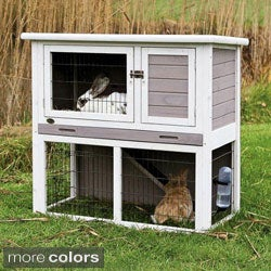 Shop Trixie Rabbit Hutch With Sloped Roof Free Shipping