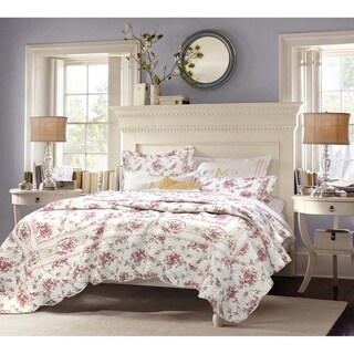 Link to The Gray Barn Ravens Way Vintage Rose 3-piece Cotton Quilt Set Similar Items in Quilts & Coverlets