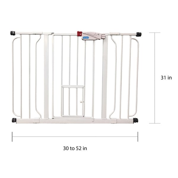 """Carlson Pet Products Extension Kit for Extra Wide Pet Gate 24/"""""""