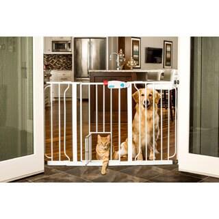 Carlson Super Wide Walk Through Pet Gate Free Shipping