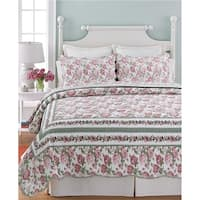 Rose Bush 3-piece Quilt Set