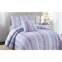 Maison Rouge Leigh Chic Lace Quilt Set