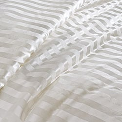 Pure Mulberry Silk Striped Jacquard Comforter - Thumbnail 1