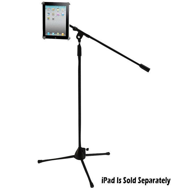 PylePro Multimedia Microphone Stand with Adapter for iPad