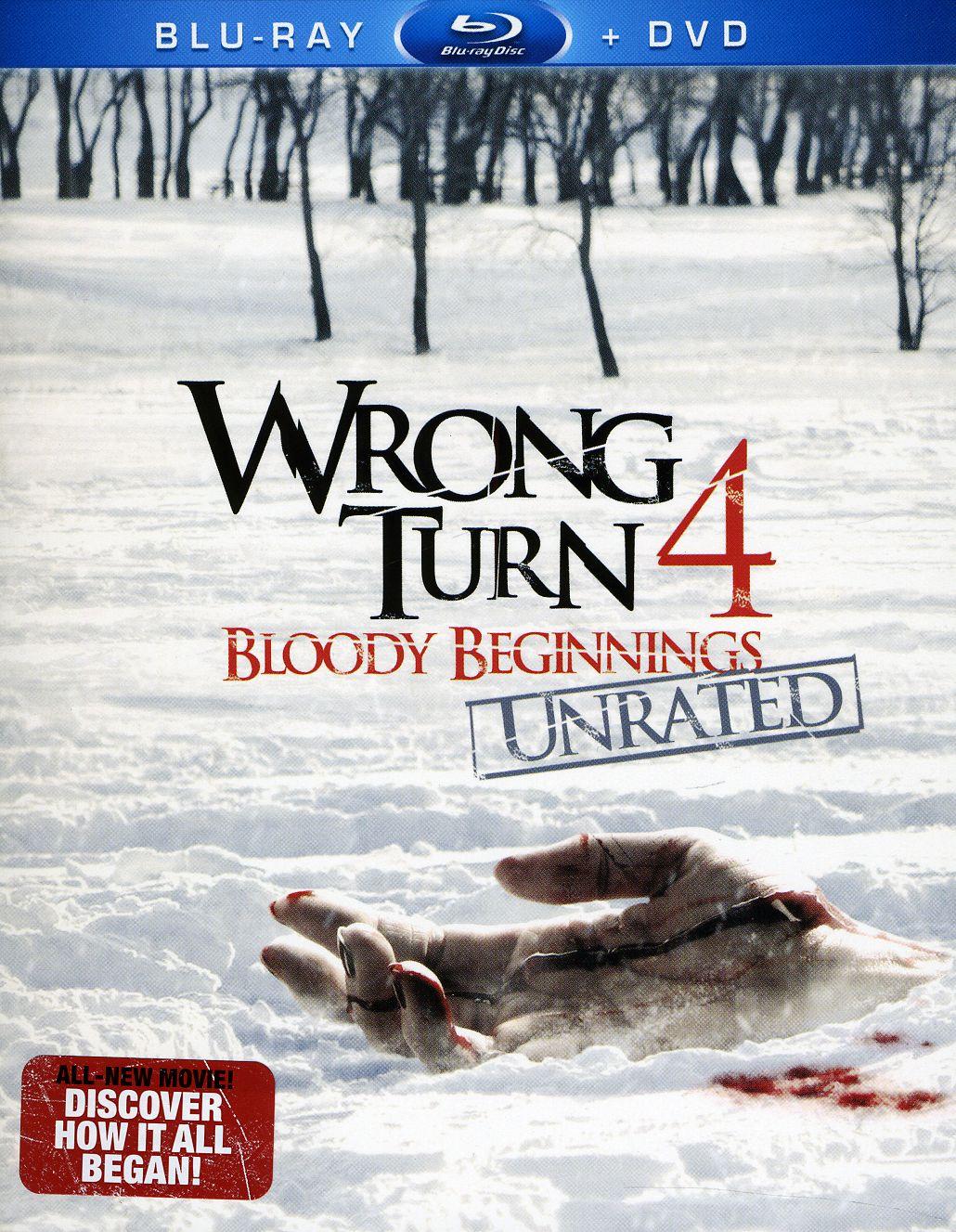 Wrong Turn 4: Bloody Beginnings (Blu-ray Disc)