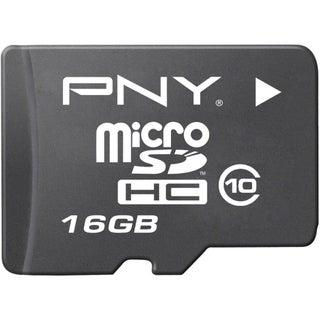 PNY P-SDU16G10-EFS2 16 GB microSDHC