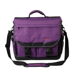 Martin Just Stow-It Purple Water-resistant Ultimate Messenger Bag