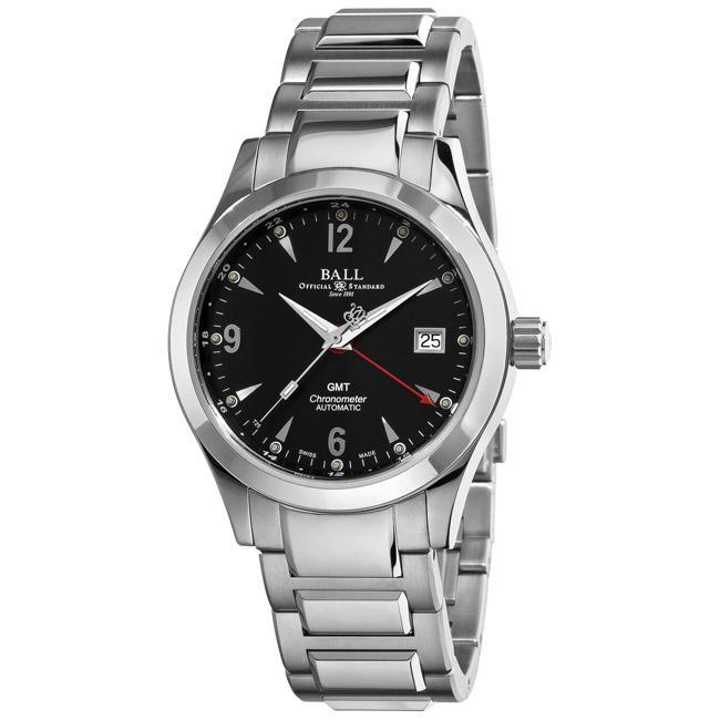 ball men s engineer ii ohio gmt automatic stainless steel luxury ball men s engineer ii ohio gmt automatic stainless steel luxury watch