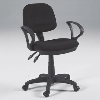 Martin Universal Design Vesuvio Drafting Height Chair in Black