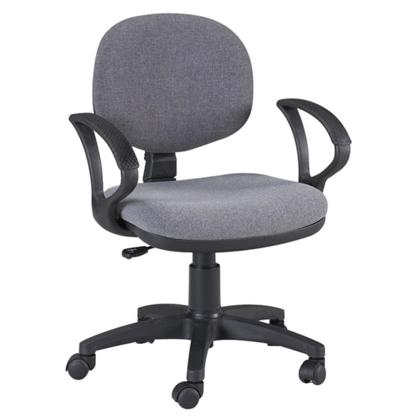 Martin Stanford Grey Drafting Height Chair