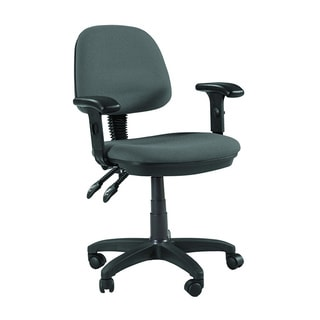 Martin Feng Shui Desk Height Chair in Grey